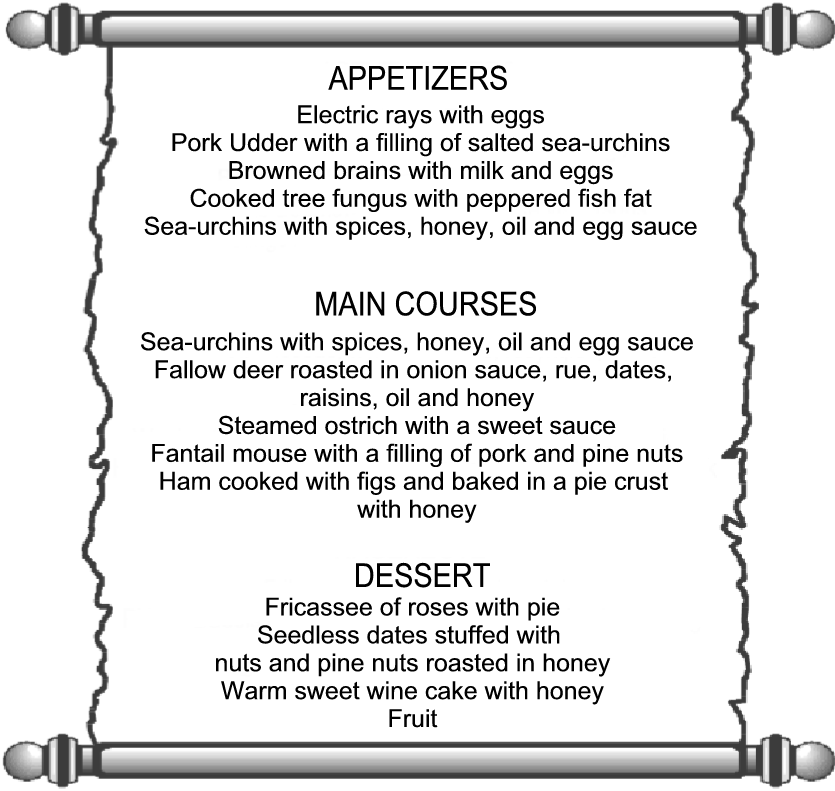 Roman Banquet Food Ideas