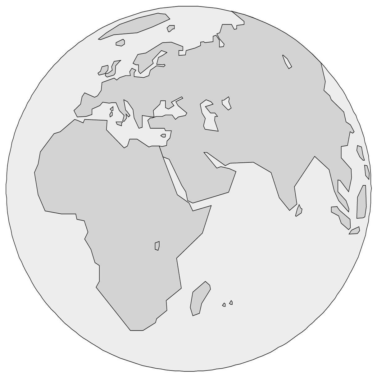 Map work large scale maps by openstax quizover have you ever tried to cut open and flatten a deflated ball that is why most world maps portray the earth as flat gumiabroncs Images