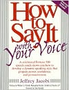 Cover of How to Say it with your Voice