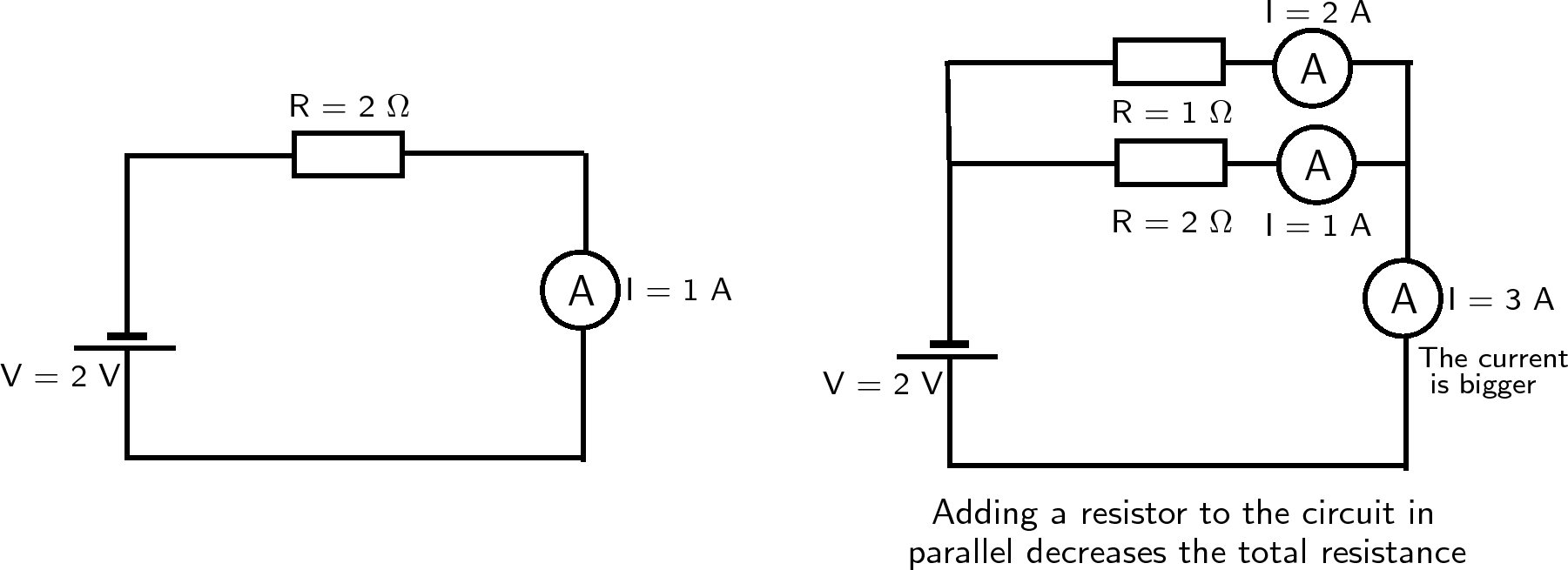 electrical schematic wiring in parallel