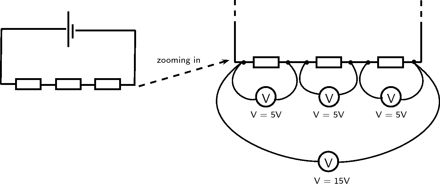 Experiment Current In Series Circuits By Openstax Page 2 4 Parallel And Circuit Potential Difference Resistors