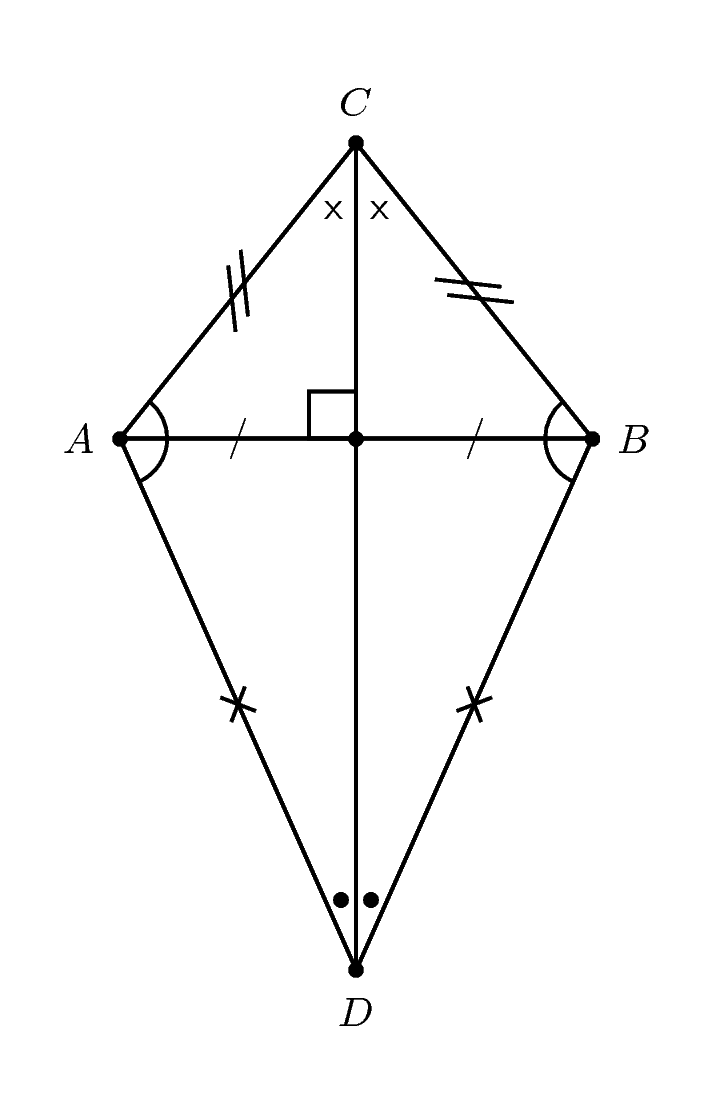 Kite polygons and quadrilaterals by openstax page 23 quizover kite ccuart Gallery