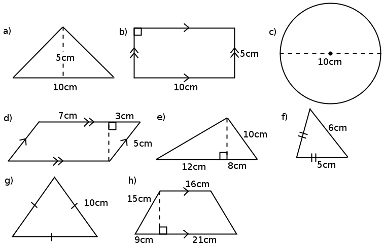 how to find the area of a 10 sided polygon