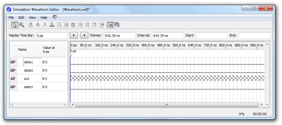 Waveform simulation, A quartus project from start to finish, By ...