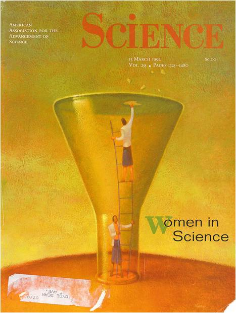 A cover of Science entitled 'Women in Science'.