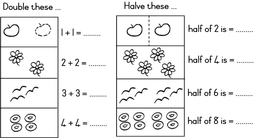 Halving Numbers To 10 - Halting Time