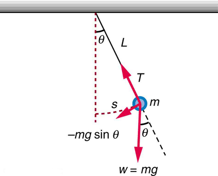 16 4 The simple pendulum, Oscillatory motion and waves, By