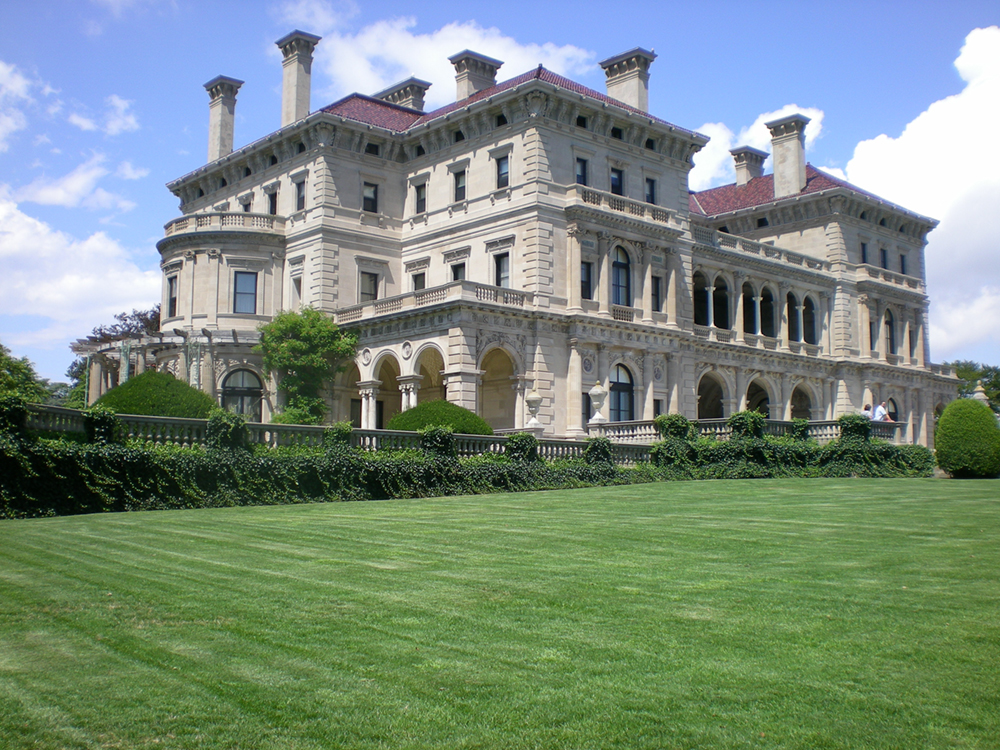 A mansion built during the Gilded Age.